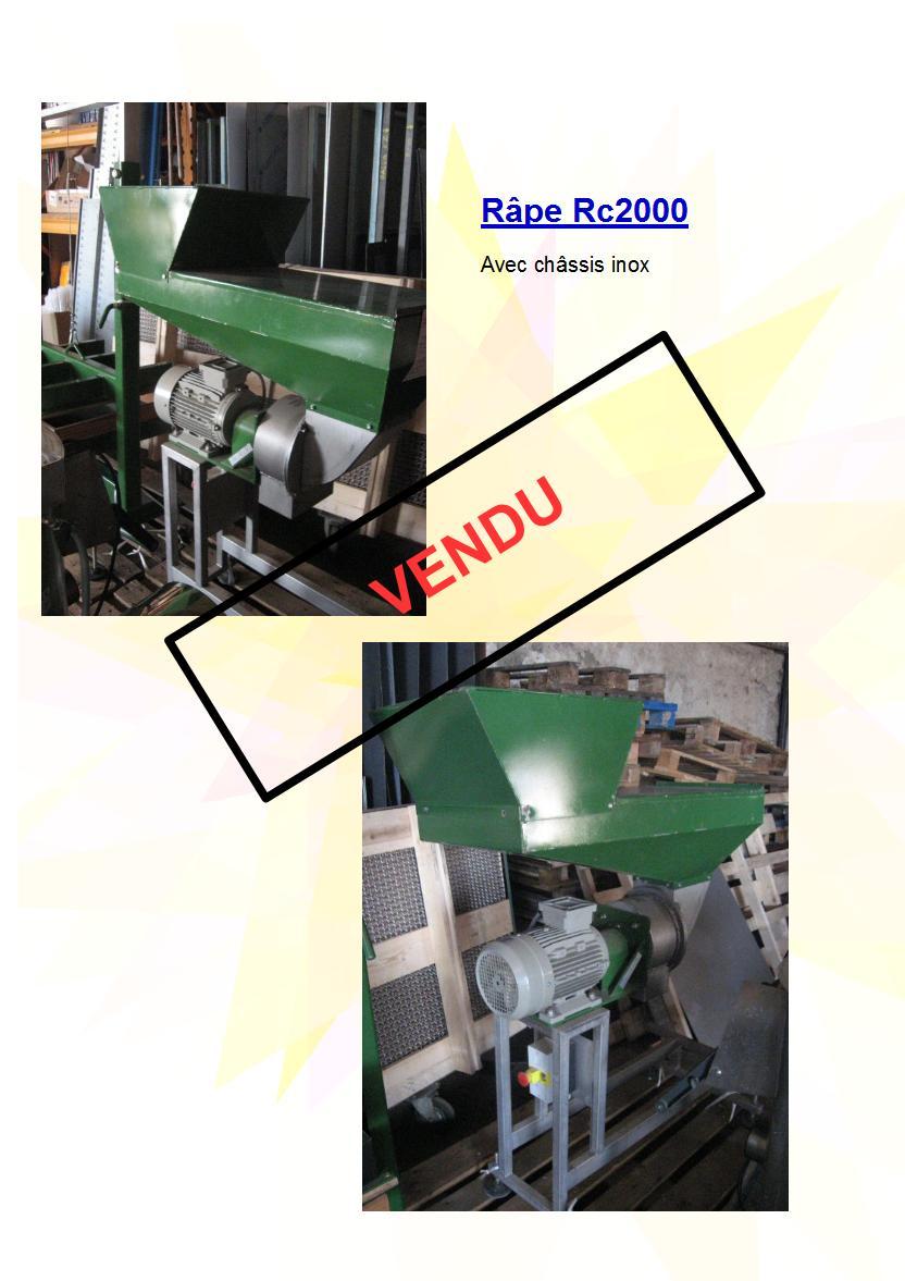 Râpe Rc2000